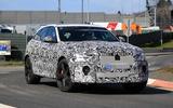 Jaguar F-Pace refresh spy images
