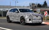 Jaguar F-Pace SVR facelift spyshot - front side