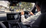 Jaguar F-Pace trialling traffic light detection technology