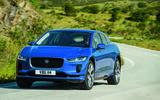 Jaguar I-Pace driving - front