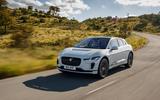 Jaguar I-Pace white