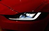 Jaguar XE 2019 facelift reveal event - headlights