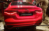 Jaguar XE 2019 facelift reveal event - rear