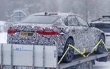 Jaguar XJ test mule rear