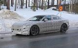 Jaguar XJ latest spyshot front side
