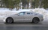 Jaguar XJ latest spyshot side