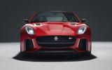 Jaguar F-Type SVR front quarter