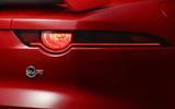 Jaguar F-Type SVR rear lights