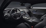 Jaguar F-Type SVR dashboard