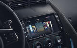 Jaguar F-Type SVR infotainment system