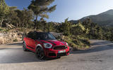 Mini Countryman JCW front quarter