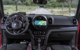 Mini Countryman JCW infotainment system