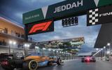 Jeddah Street Circuit race render   image courtesy F1