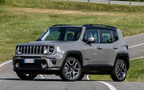 Jeep Renegade 4xe front side
