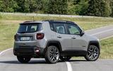 Jeep Renegade 4xe rear side