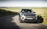 Jeep Compass cornering