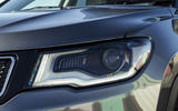 Jeep Compass headlights