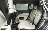 Jeep Compass rear seats