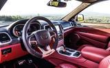 Jeep Grand Cherokee Trackhawk dashboard
