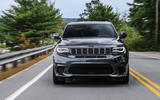 Jeep Grand Cherokee Trackhawk front end
