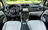 Jeep Renegade 2018 review cabin