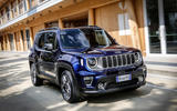 Jeep Renegade 2018 review on the road front