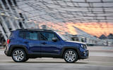 Jeep Renegade 2018 review on the road side
