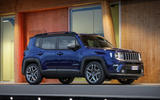 Jeep Renegade 2018 review static front