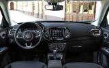 Jeep Compass update interior