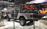 Jeep Gladiator LA motor show reveal - stand rear