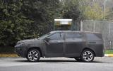 Jeep Grand Compass spyshots side