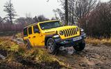 Jeep Wrangler Rubicon rockcrawling