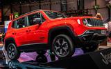 Jeep Renegade PHEV Geneva 2019