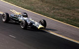 Jim Clark won the Indianapolis 500 with Lotus in 1965