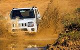 Suzuki Jimny off-roading