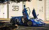 Bugatti EB110 - doors open