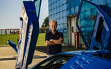 Loris Bicocchi with Bugatti EB110