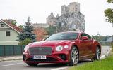 Bentley Continental GT front