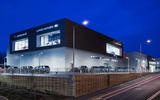 Jaguar Land Rover showroom
