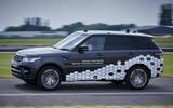 Land Rover autonomy