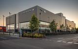 Jaguar Land Rover statement site, Sunbury-on-Thames, London