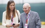 Surtees with his daughter