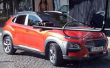 Hyundai Kona spotted undisguised ahead of summer reveal