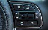 Kia Niro cruise control buttons