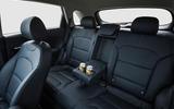 Kia Niro rear seats