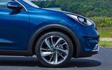Kia Niro front wheel arch
