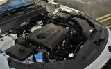 Kia Optima 1.7 CRDi engine