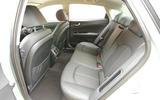 Kia Optima PHEV rear seats