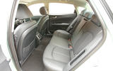 Kia Optima PHEV rear seats