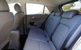 Kia Picanto rear seats